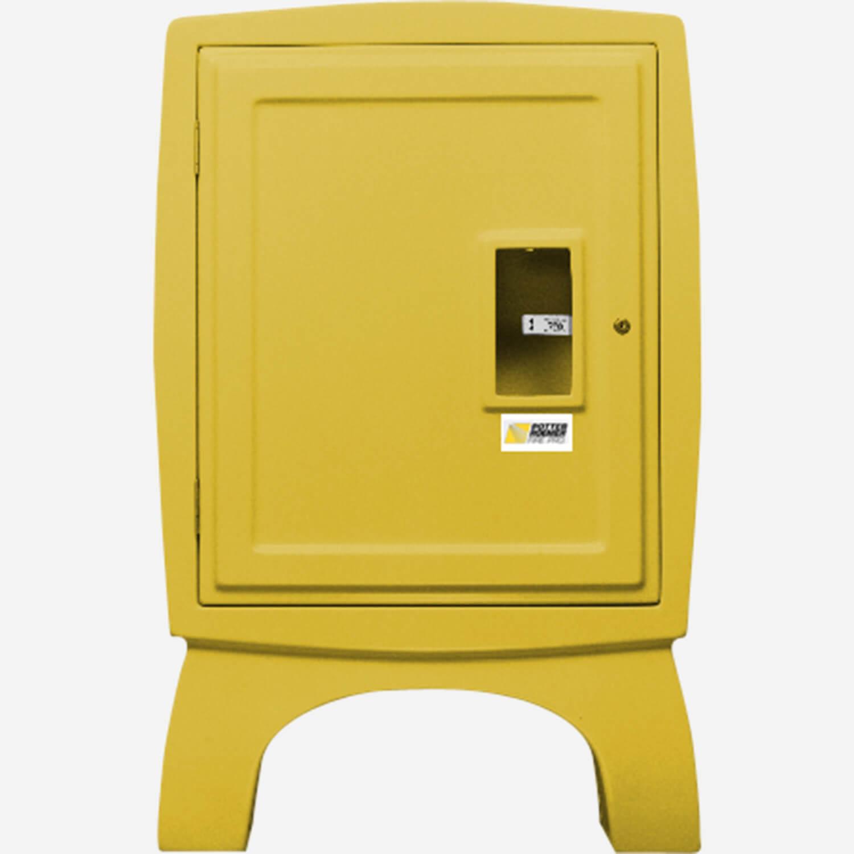 "1.5"" Fire Hose Rack and Extinguisher Fiberglass Cabinet"