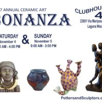 2017 Potters and Sculptors Bonanza