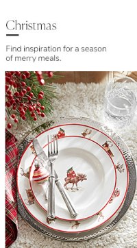 Holiday Decorations & Christmas Decorations | Pottery Barn