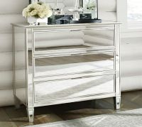 Park Mirrored Dresser & Bedside Tables Set