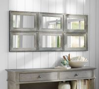 Aiden Large Wall Mirror | Pottery Barn