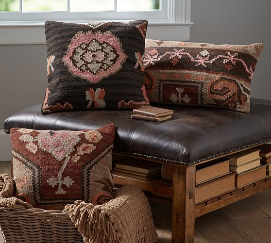 accent chairs on clearance diy chair sashes dabney kilims pillow cover set of 3 | pottery barn