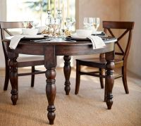 Evelyn Extending Round Dining Table | Pottery Barn
