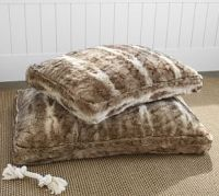 Faux Fur Pet Bed Cover - Ivory Alpaca | Pottery Barn