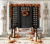 How to Decorate Fall Front Doors | Pottery Barn