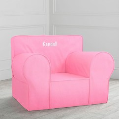 Pink Slipcover Chair Small Patio Table And 2 Chairs Light Twill Oversized Anywhere Only Pottery Barn Kids
