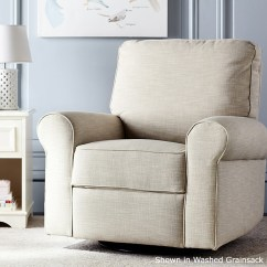 Glider Recliner Chair Leick Chairside End Table Comfort Swivel Pottery Barn Kids