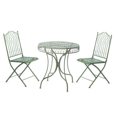 green metal bistro chairs room and board madrid chair heritage set