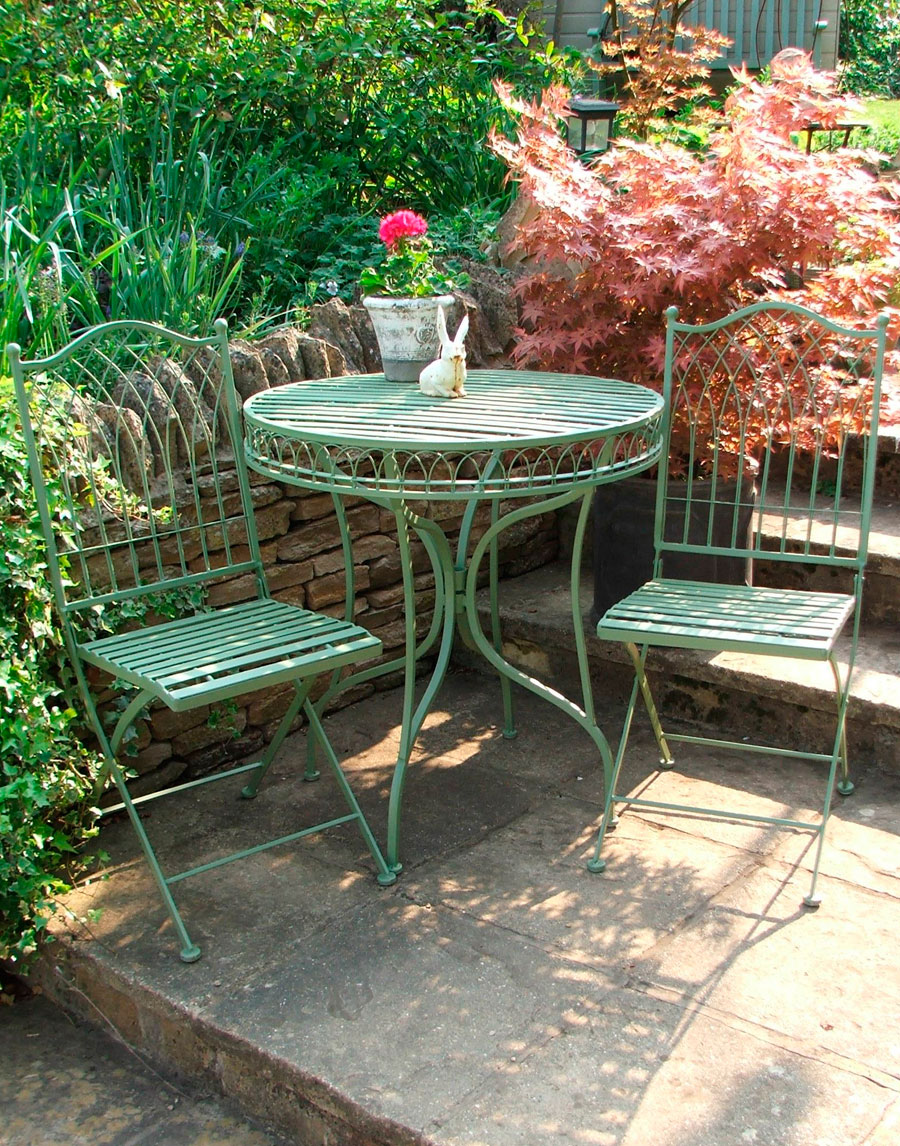 fold away table and chairs jazzy power chair heritage green bistro set