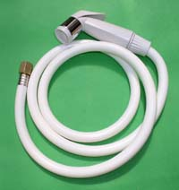 Diaper Sprayer Hose also can be used as hand held bidet