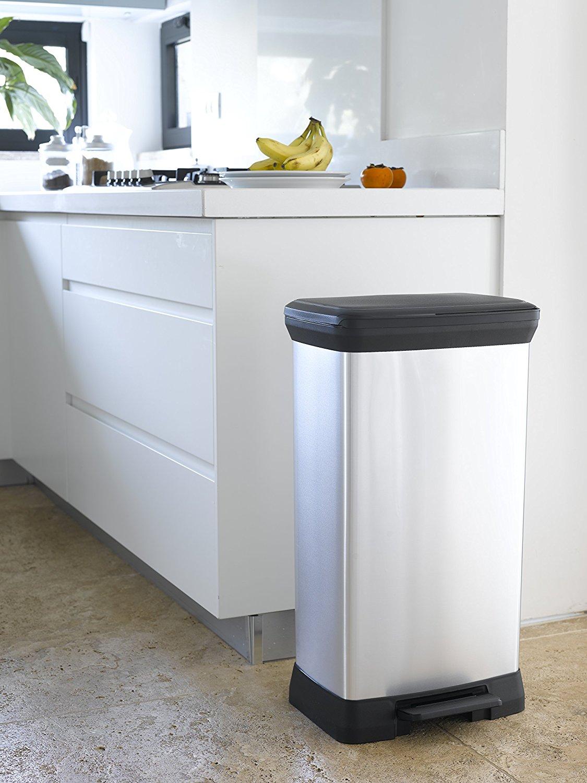 la poubelle a pedale curver 187152 un