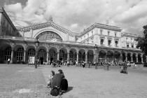 「パリ東駅」gare de l'est   (パリ)