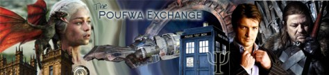 Poufwa Exchange Podcast banner