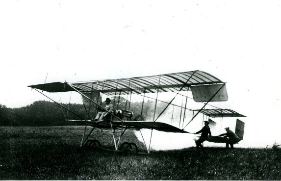 Robert Svendsen i fly i Middelfart