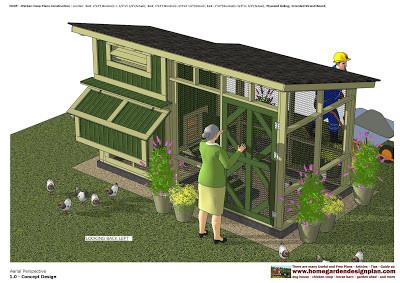 le poulailler poules en ville. Black Bedroom Furniture Sets. Home Design Ideas