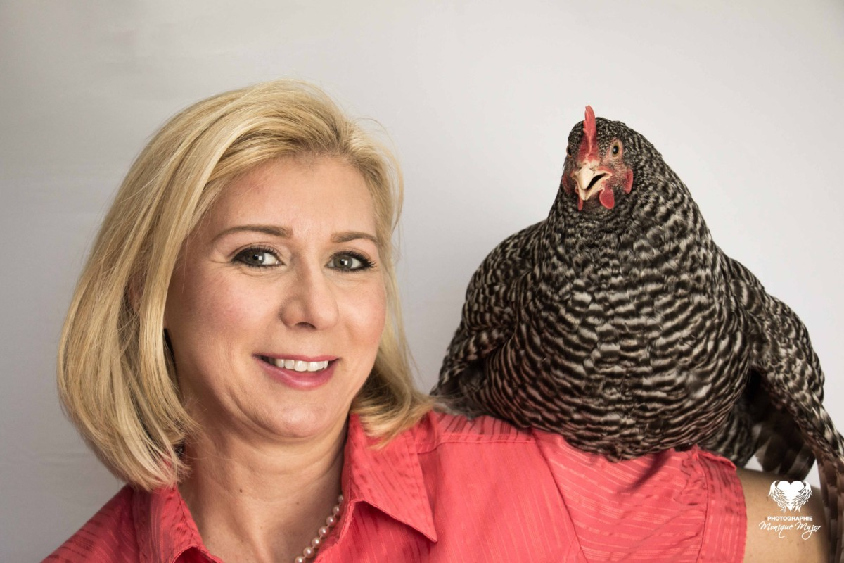 Promo Louise avec poule