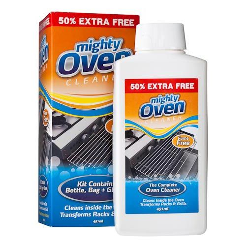 mighty oven cleaner kit 330ml