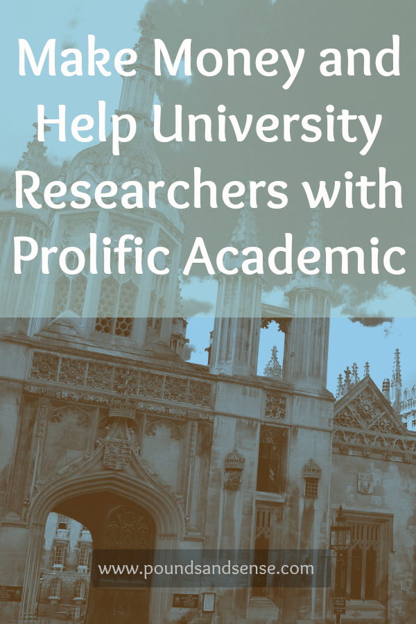 Make money and help university researchers with Prolific Academic