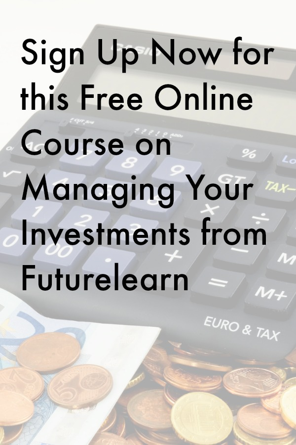 Sign Up Now for this Free Online Course on Managing Your Investments from Futurelearn