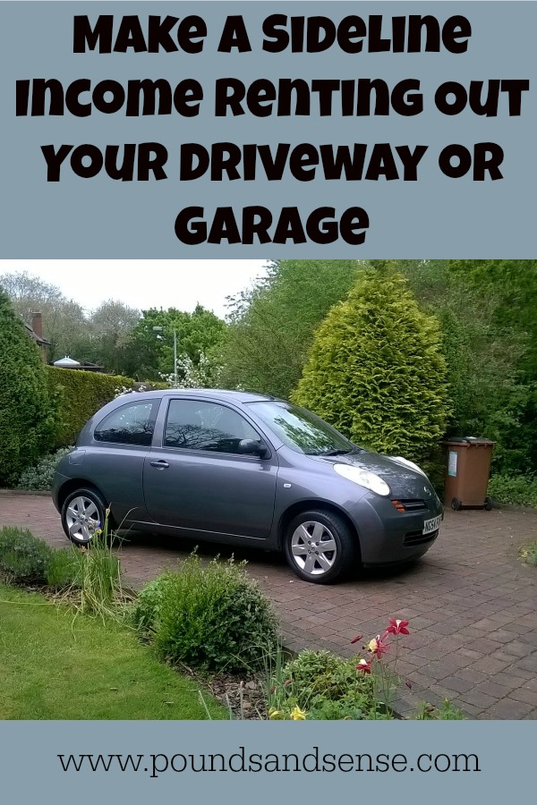Make a Sideline Income Renting Out Your Driveway or Garage