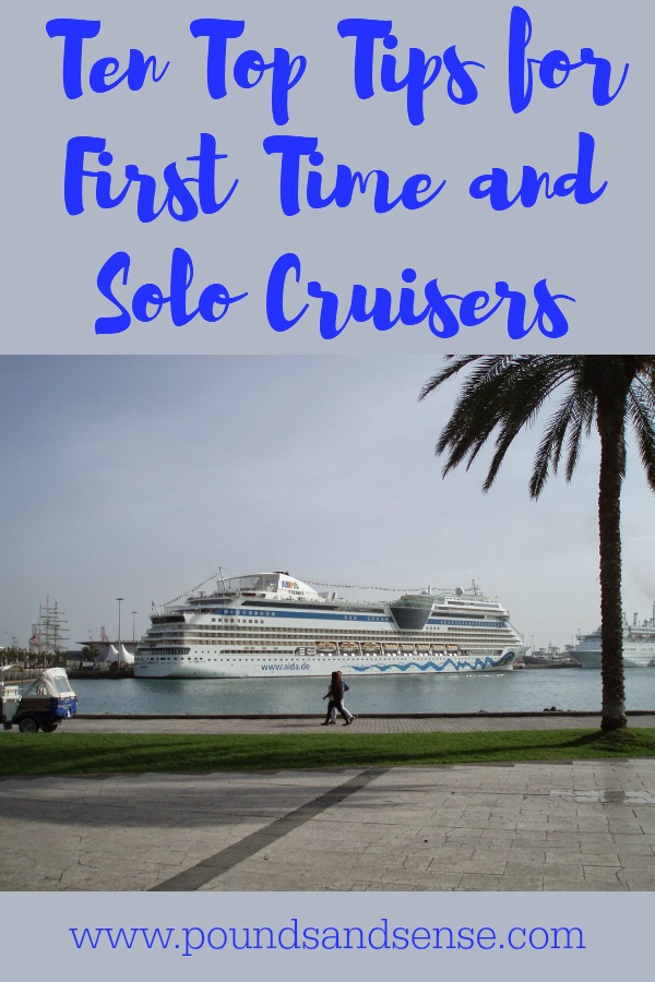 Ten Top Tips for First Time and Solo Cruisers