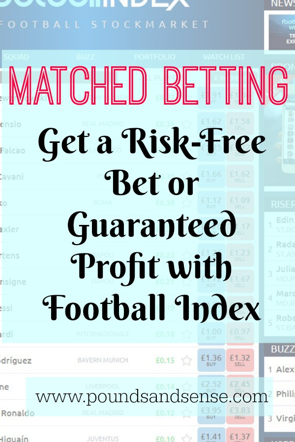 Matched Betting: Get a Risk-Free Bet or Guaranteed Profit with Football Index
