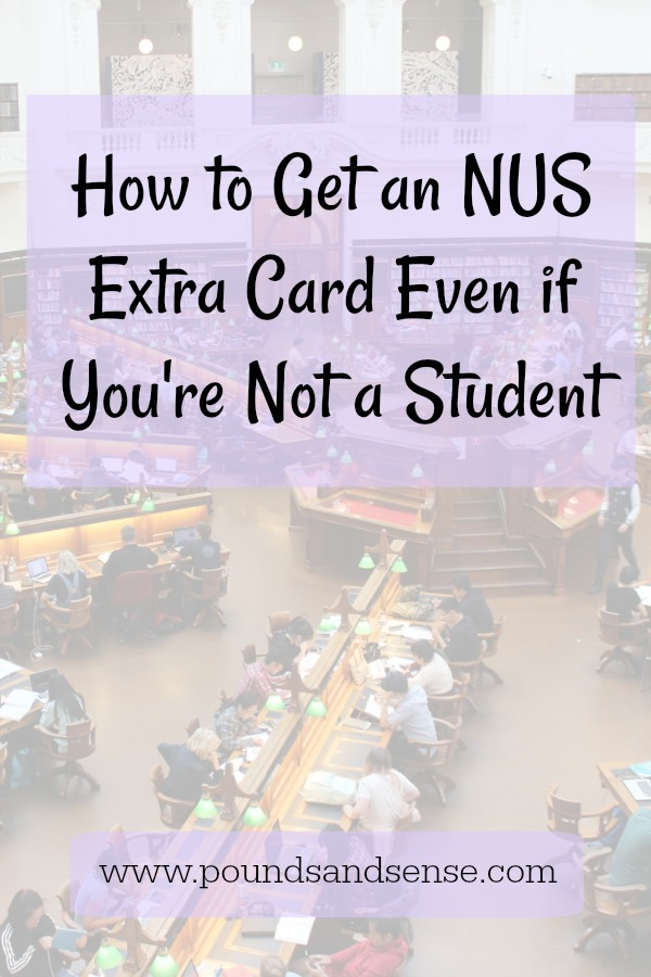 How to Get an NUS Extra Card Even if You're Not a Student