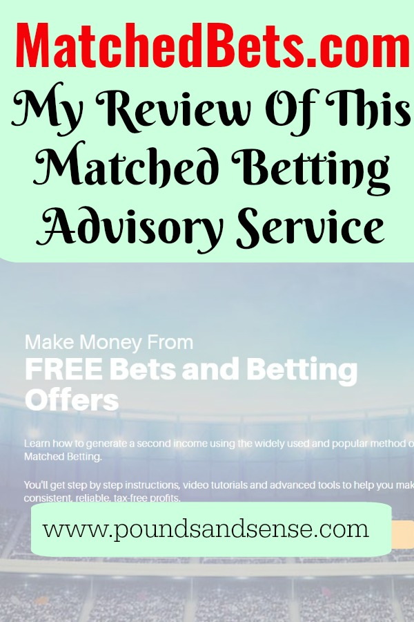 MatchedBets.com: My Review of This Matched Betting Advisory Service