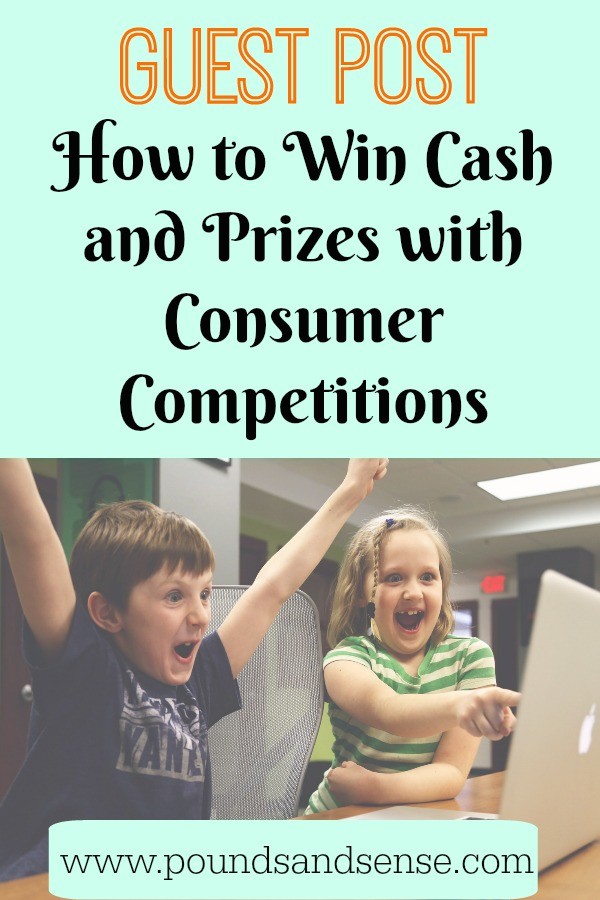 Competitions for cash prizes