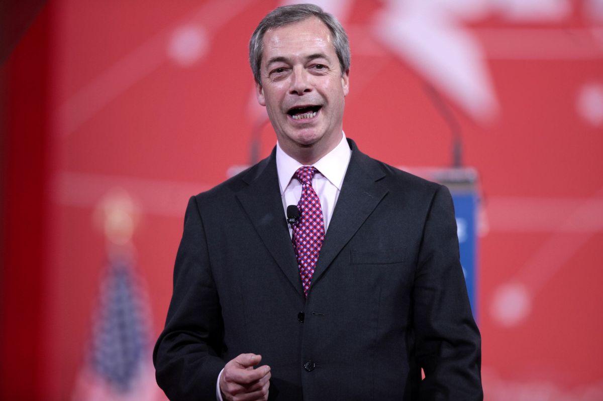 Nigel Farage et la livre