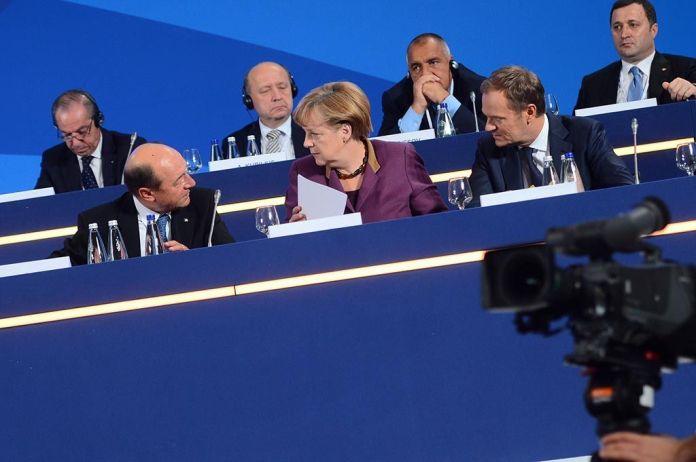 Merkel und Kurz Brexit handeln