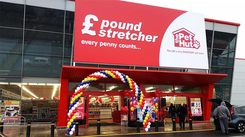 About Us  Poundstretcher
