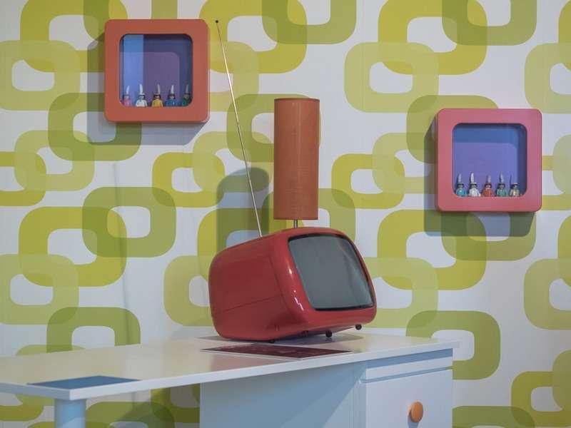 Cambiano le forme e i colori, ma il risultato è sempre lo stesso: Carta Da Parati Anni 70 Le Idee Di Design Piu Belle Foto Pourfemme