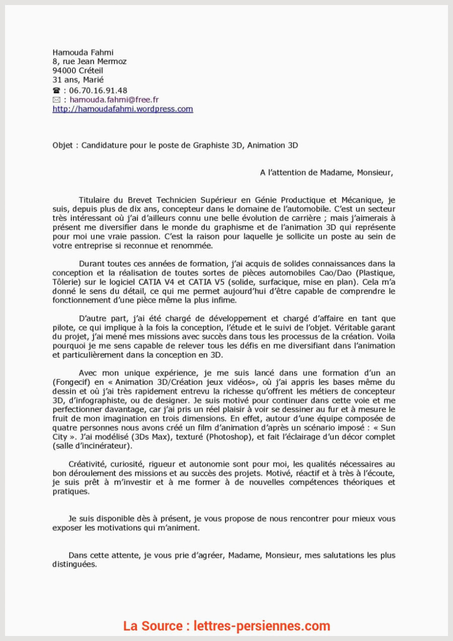 Lettre De Motivation formation Alternance Briliant Lettre De Motivation Pour Apprentissage Climatisation