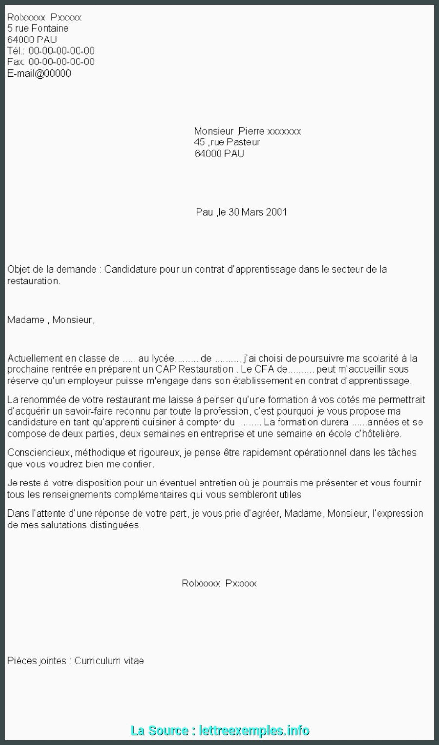 Lettre De Motivation formation Alternance Simple Lettre De Motivation Pour formation Alternance Lettre De