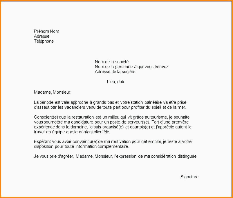 Lettre De Motivation Pour Agent De Nettoyage Exemple Lettre De Motivation Interim Contrat En Alternance Fre