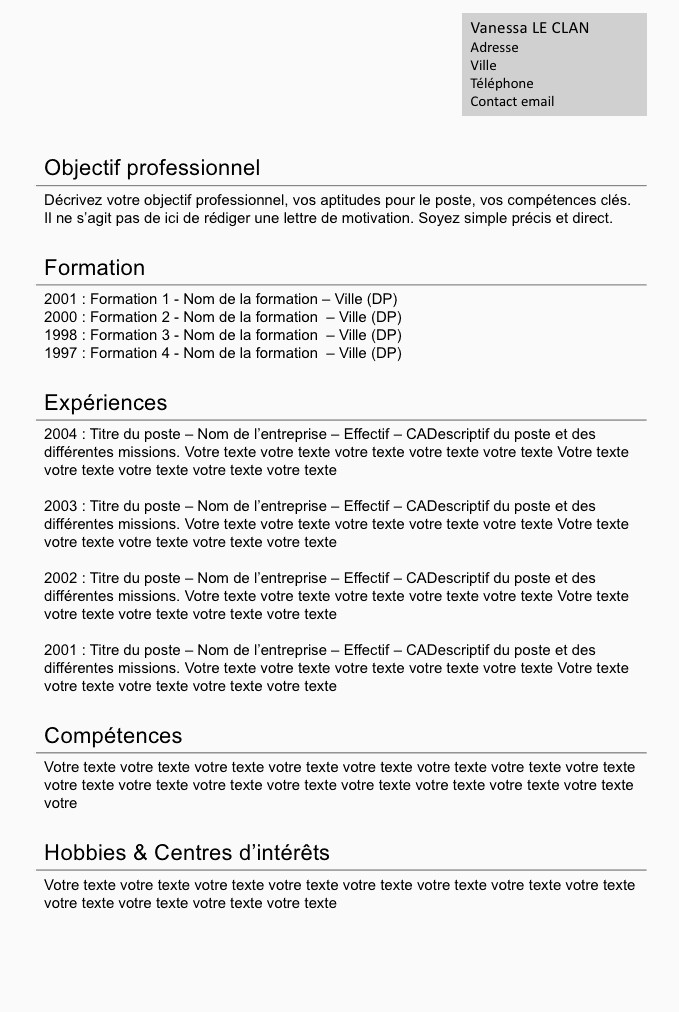 Lettre De Motivation Webmarketing 15 Exemple Cv Classique