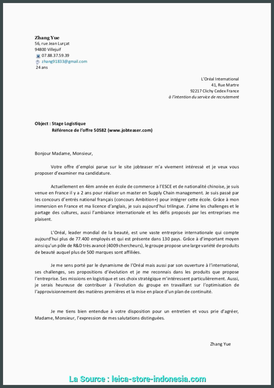 Lettre De Motivation Webmarketing Briliant Lettre De Motivation Marketing Digital Stage Lettre De