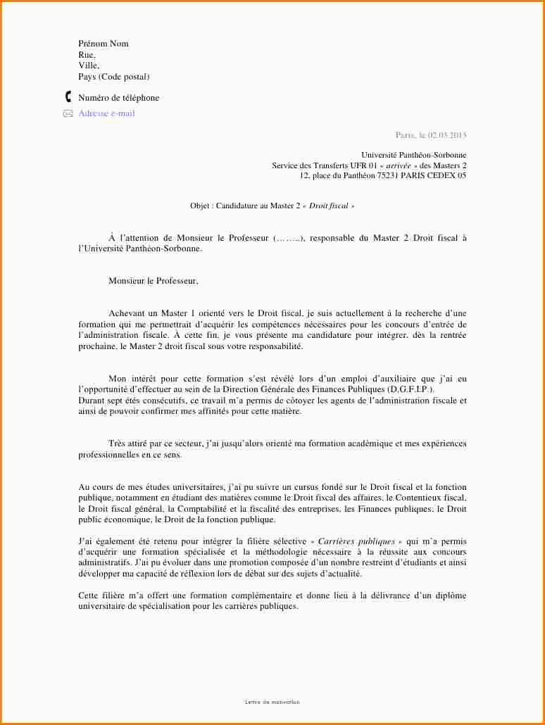 Lettre Motivation Macdo 7 Lettre De Motivation Université