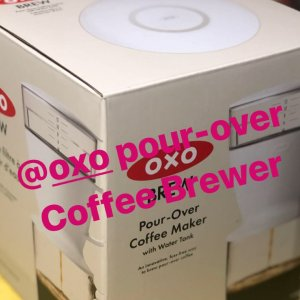 OXO pour over coffee brewer