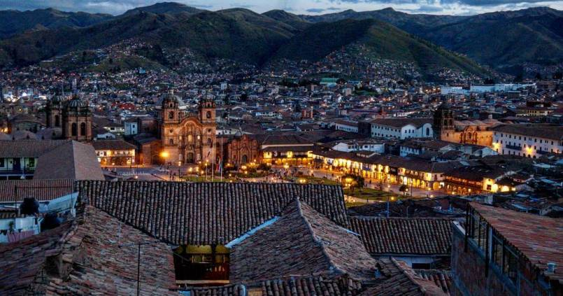 Cusco by night. Such a beautiful city. 1