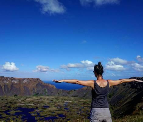 Non il n'y a pas que des Moia à l'île de Pâques, il y a aussi des volcans incroyables 17