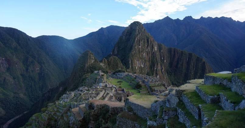 Le Machu Picchu au lever du soleil. 1
