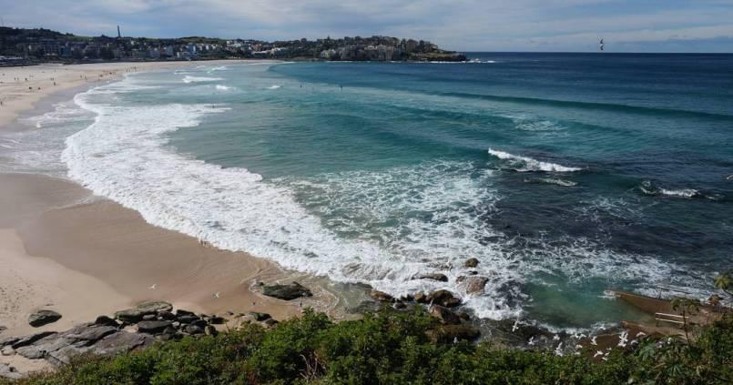 La fameuse plage de Sydney, Bondi Beach 1