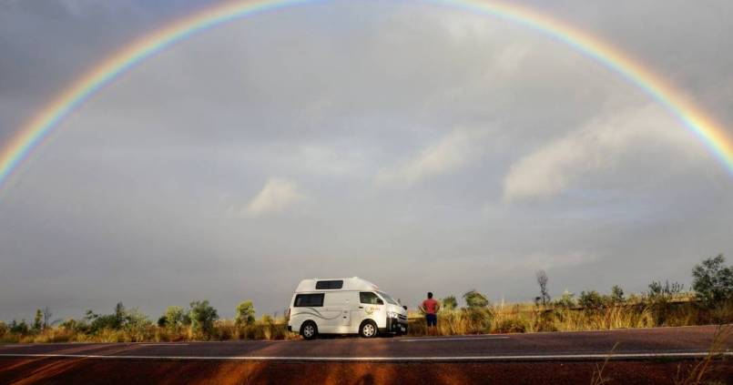 On fait le plein de couleurs avant d'attaquer les 2500 km qui séparent Townsville et Darwin 1