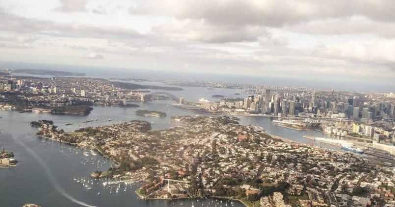 On arrive à Sydney. 1