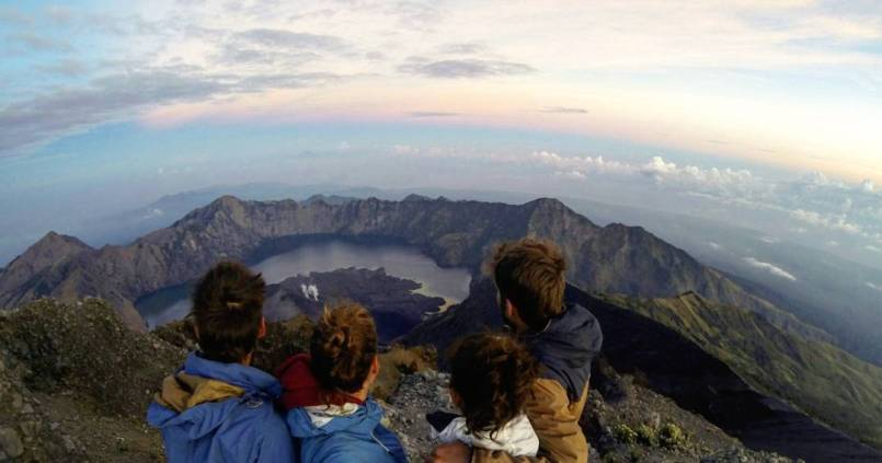 Rinjani mountain: check 1