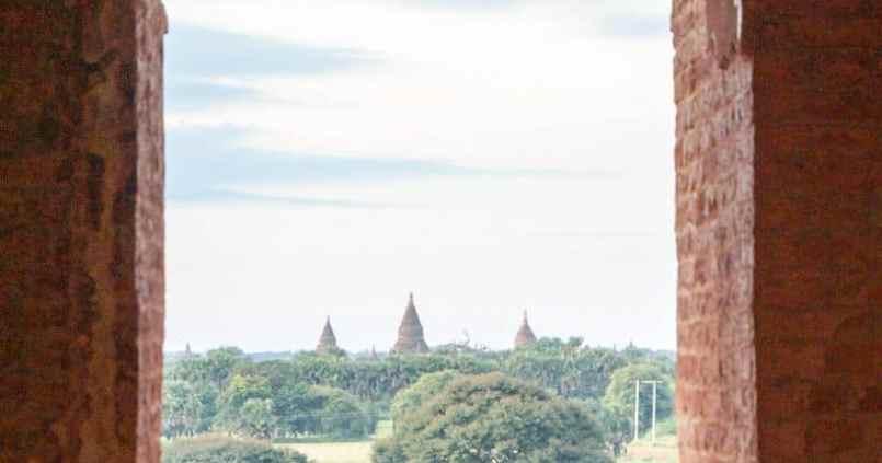 Fenêtre secrète sur Bagan. 1