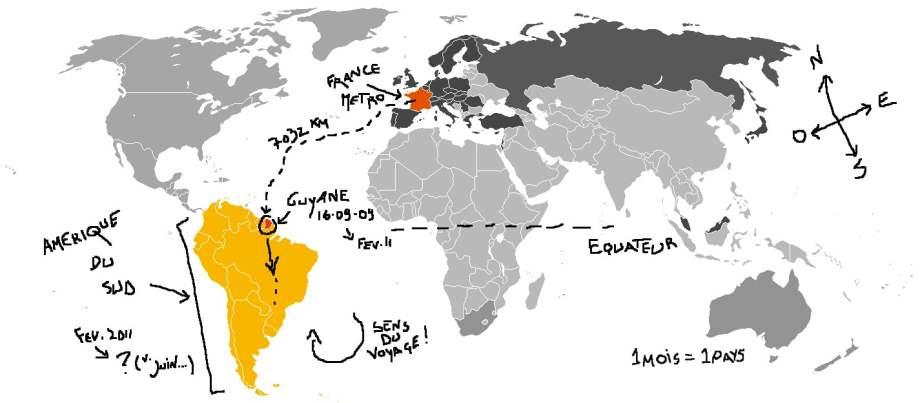 Planifier un itinéraire tour du monde : notre technique 8