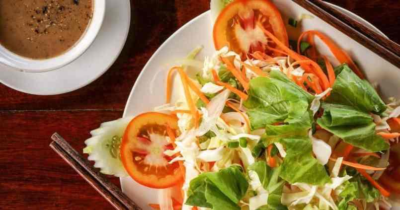 Une bonne salade, ça change du riz et des pâtes. 1